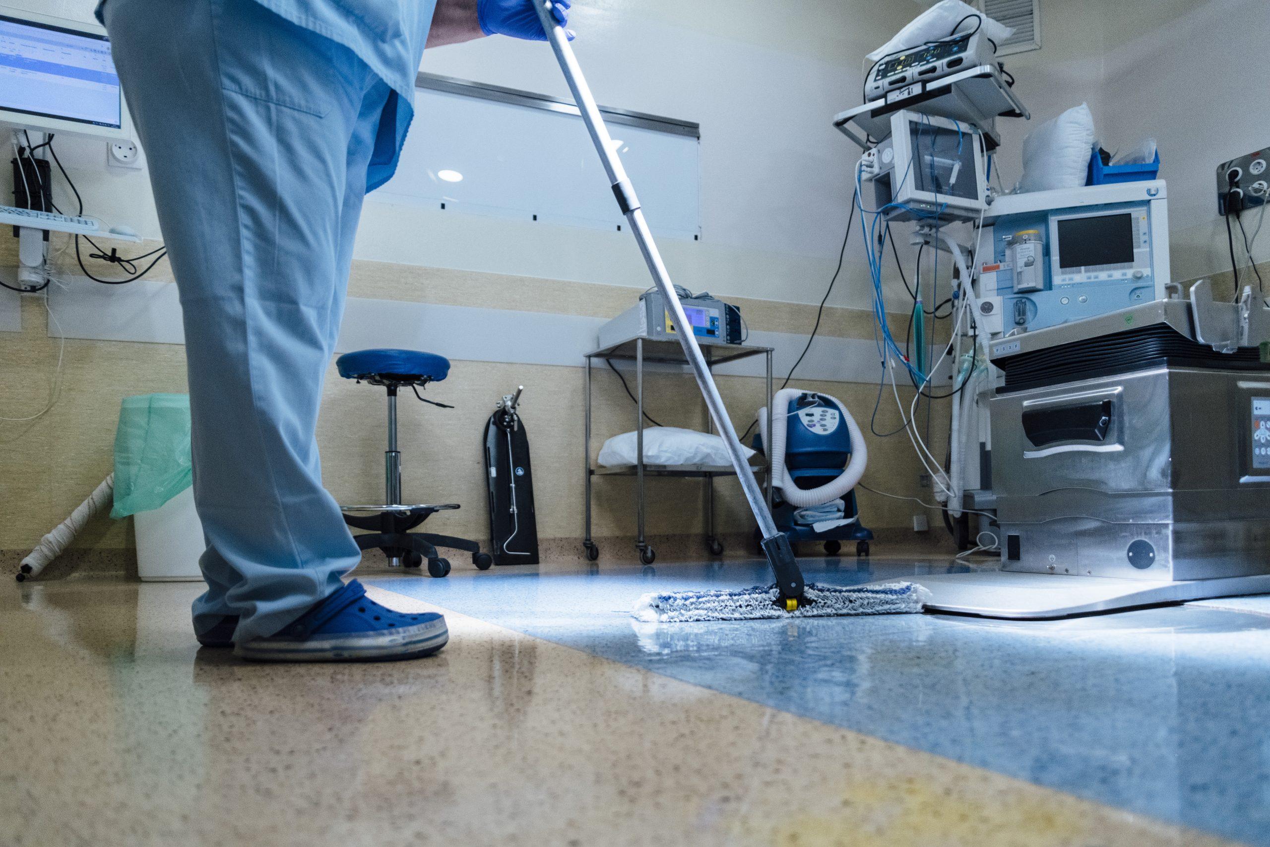 Krankenhäuser und Altenpflege